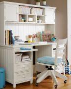 Çalışma masası beyaz etkisi!