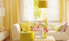 Evinizde sarı dekorasyon etkisi!