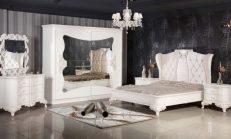 Monokrom Siyah Beyaz Yatak Odası Dekorasyonu