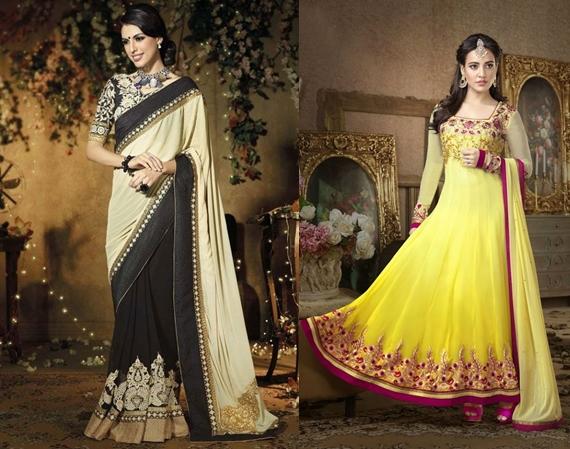 En Şık Hint Elbiseleri, Kıyafetleri Enjoy Modeller