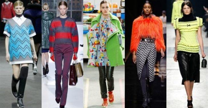 Sonbahar-Kış Trendleri: Neon Renkler