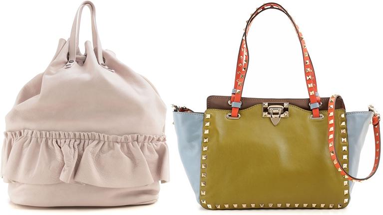 Şık Tasarımlı Büyük Boy Valentino Bayan Çantaları