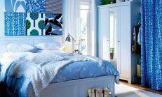 Yatak Odası İçin Mavi Renk Dekorasyon Fikirleri