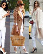 Kışın Beyaz Jean Nasıl Kombinlenir?