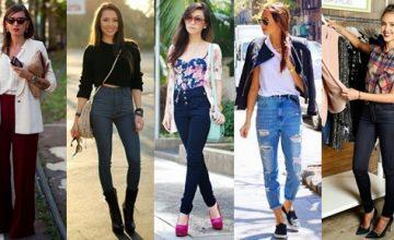 Yüksek Bel Pantolon Nasıl Kombinlenir?