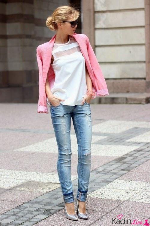 Jean Pantolon Paçaları Sıvama Trendleri