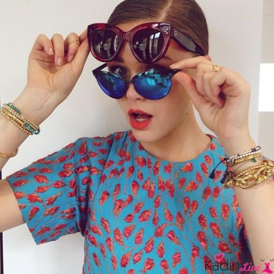 Kedi Gözü Bayan Yazlık Güneş Gözlüğü Modelleri 2018-2019