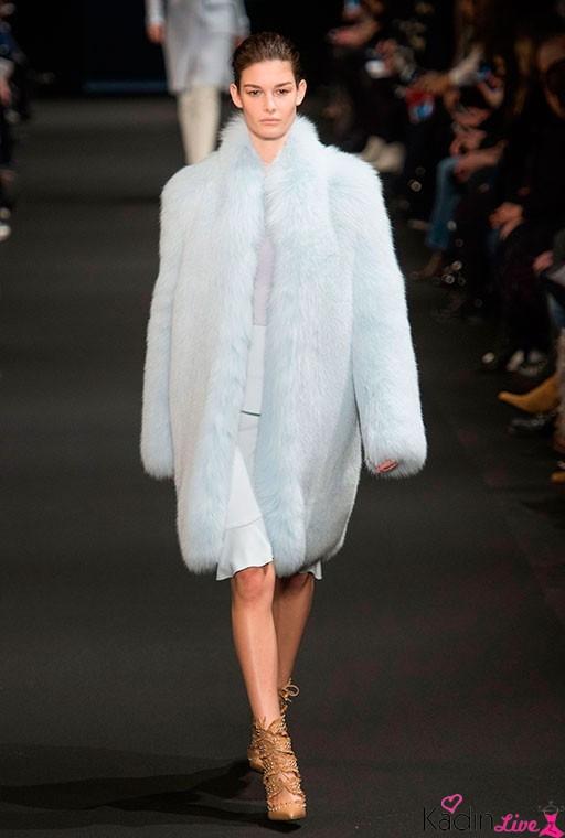 Altuzarra Sonbahar Kış Kürklü Uzun Ceket Modelleri