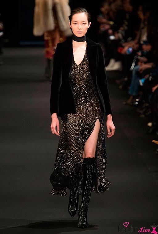 Altuzarra Golden Elbise, Kadife Blazer Ceket Koleksiyonu