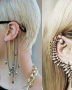 Ear Cuffs Küpe Kombinleri, Nasıl Takılır?