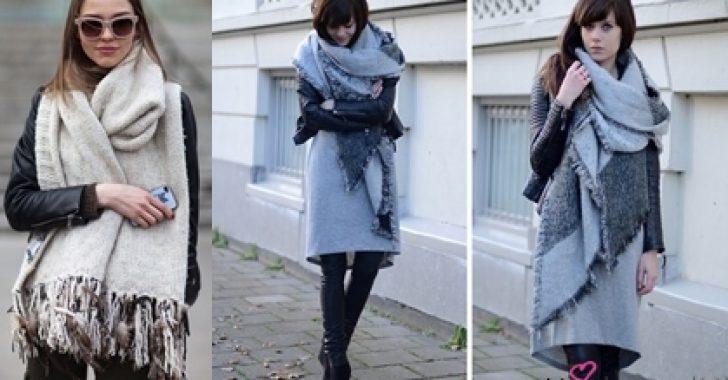 Kış Trendi: Oversized Şal Modelleri ve Kombinleri