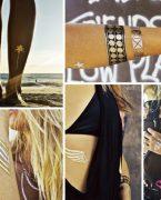 2019 Dövme Modası: Metalik Flash Tatto Dövme Modelleri