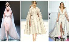 2019 Paris Moda Haftasının En Sıradışı Gelinlik Modelleri