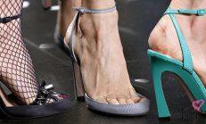 Kadınların Aklını Başından Alan Şeffaf Ayakkabılar