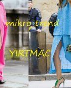 Mikro Trend: Yırtmaçlı Etek Kombinleri
