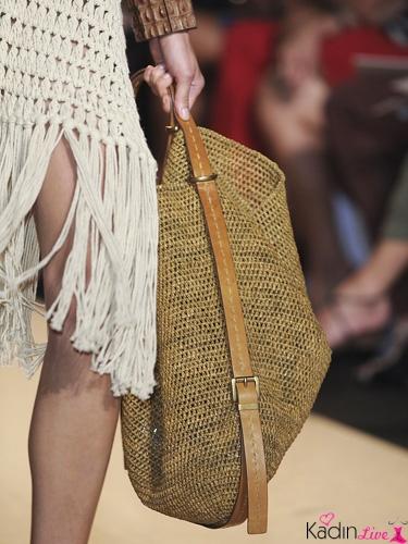 Yaz Plaj Modası Hasır Çanta Modelleri