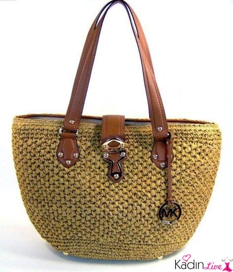 Yaz Trendleri Hasır Çanta Modelleri