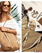 2019 İlkbahar Yaz Modası: Hasır Çanta Modelleri ve Kombinleri