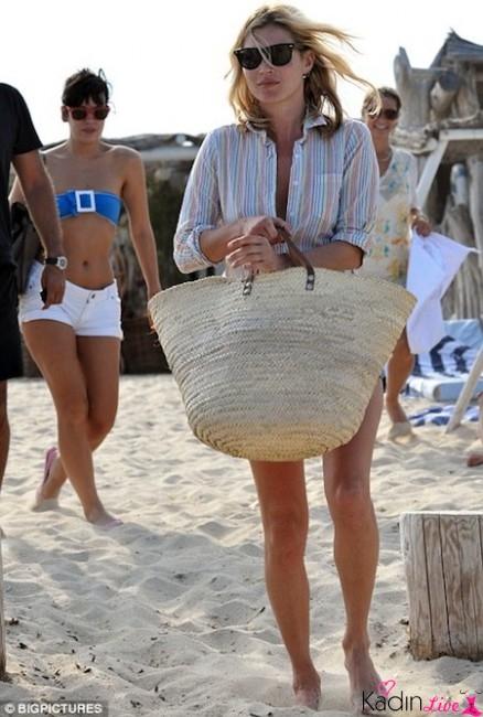 Plaj Modası Hasır Çanta Modelleri