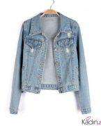 2018-2019 İlkbahar Yaz Modası: Jeans Kot Ceket Kombinleri