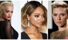 Sezonun en moda kısa saç modelleri