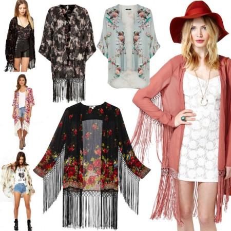 2019-2019 İlkbahar Yaz Trendleri: Kimono Kombinleri 36