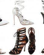 2018-2019 Lace Up Sandalet Ayakkabı Modelleri ve Kombinleri
