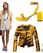 İlkbahar Yaz Modası: Sarı Renk Elbise, Kıyafet Kombinleri