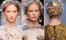 2018-2019 İlkbahar Yaz Trendleri: Saç Aksesuarları, Saç Bantları