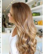 Saç uçlarına yakışan balyajlar