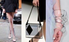 2015 şeffaf, plastik aksesuar modası