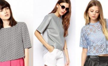 """Yaz Trendleri: Yarım Kollu """"Shift"""" Bluz Kombinleri"""