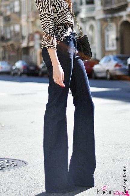 Sokak Modası Bol Paça Pantolon Kombinasyonları