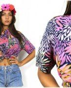 2018-2019 İlkbahar Yaz Modası: Çiçekli Gömlek Kombinleri