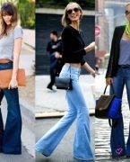 2018-2019 Pantolon Modası: Bol Paça Pantolon Kombinleri