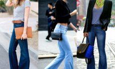 Bol paça trendi: İspanyol paça pantolonlar