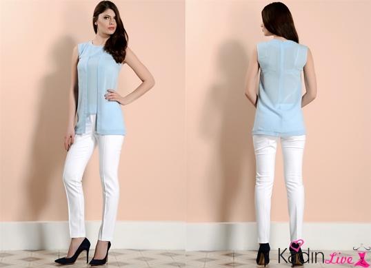 Beyaz Pantolon adL Cengiz Abazoğlu Kıyafetleri