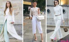 2018-2019 Yaz Trendleri: Beyaz Elbise Kombinleri
