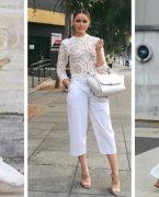 Yeni moda akımı: Beyaz takım elbiseler