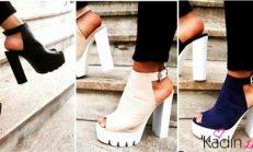 Yaz trendi: glamour platform ayakkabılar
