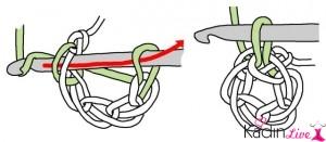 Вязание пинеток крючком для начинающих со схемами и. Как вязать крючком Приемы техника вязания крючком Схемы для...