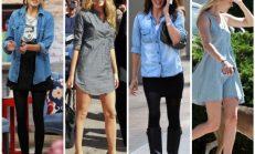 2018-2019 Yaz Moda Trendleri: Kot Gömlek Kombinleri
