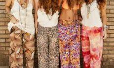 2015 Yeni trendi: Palazzo bol pantolonlar