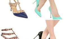 Sivri burun topuklu ayakkabı modelleri ve kombin