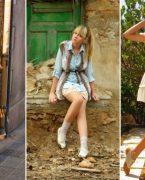 Sokak modası ilkbahar yaz etek kombini 2015