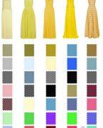 Giyimde Renklerin Uyum Tablosu