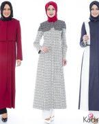 2018-2019 İlkbahar Yaz: Tekbir Giyim Yazlık Tesettür Pardesü Modelleri