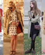 2018-2019 İlkbahar Yaz Modası: Trençkot Kombinleri