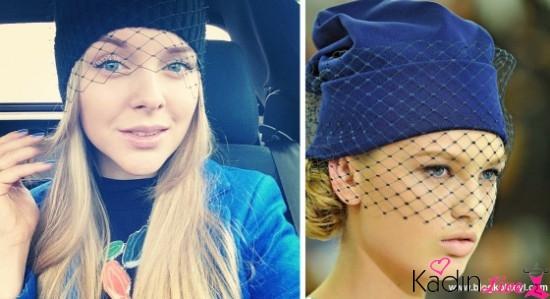 Sonbahar Kış Modası Duvaklı Şapka Kombinleri