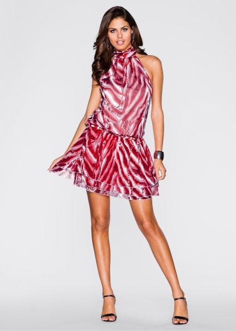 2366bd38e269b Şifon kısa şık elbise modeli - Kadinlive.com